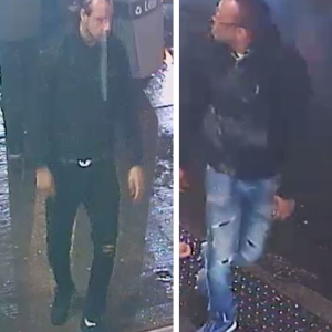 Two suspects to be Identified
